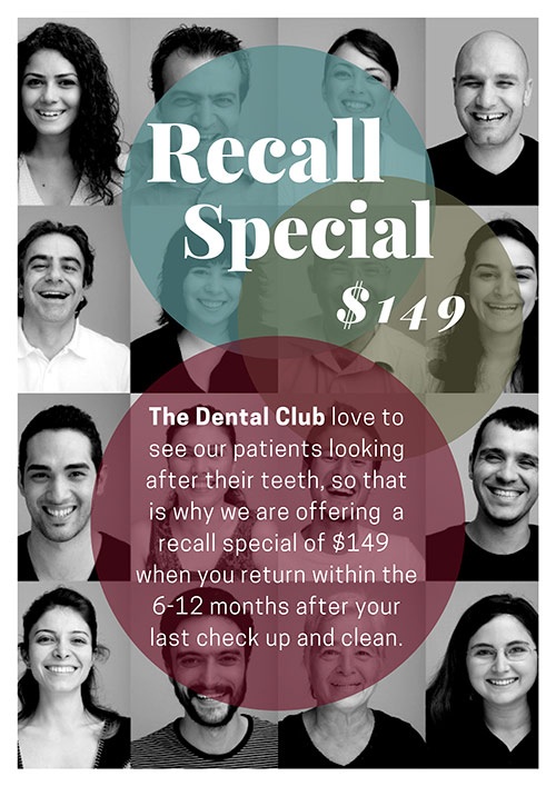 Recall Special $149